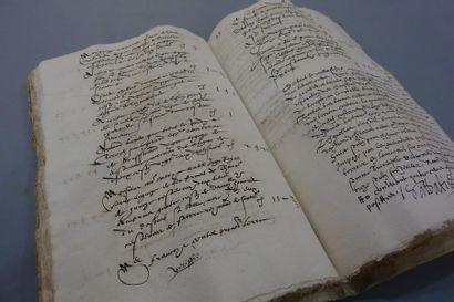 BOUCHES-DU-RHÔNE. Manuscrit de 128 pp. in-4,...