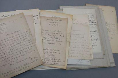 [CALMANN-LÉVY]. 31 lettres adressées à Léopold...