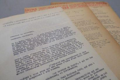 COLONIE LÉON BLUM EN GALILÉE. 4 documents...