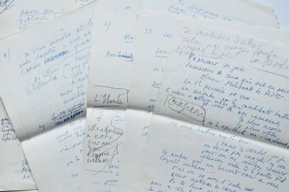 FRONT POPULAIRE. Léon BLUM. Manuscrit autographe....