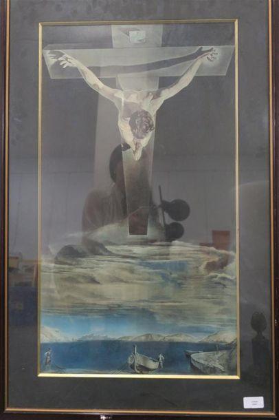 D'après Dali Christ de Saint Jean de la ...