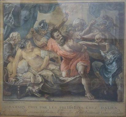 Louis Marin BONNET (1736/43 - 1793) Samson...