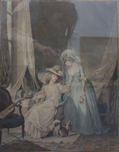 Jean-François JANINET (1752 - 1814) L'aveu...