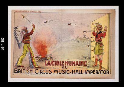 BRITISH CIRCUS Music Hall imperator.