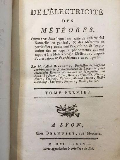 BERTHOLON (l'abbé Pierre)