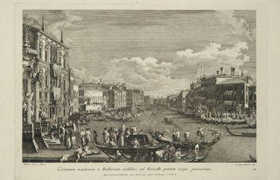 CANALETTO (Giovanni Antonio Canal, dit). - BRUSTOLON (Giambattista)