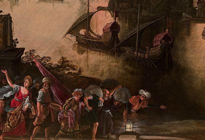 Louis de CAULLERY et David TENIERS L'ANCIEN (Caullery 1580 - Anvers 1621) et (Anvers...