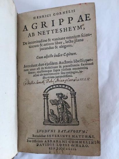 AGRIPPA (Heinrich Cornelius)
