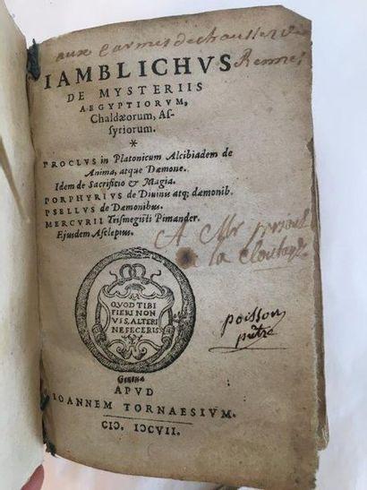 JAMBLICHUS
