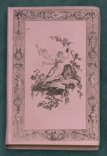 ALMANACHS. - Ensemble 9 volumes in-12, cartonnage...