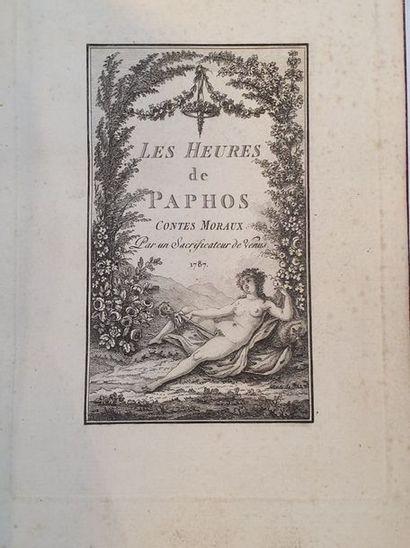 CURIOSA. - HEURES DE PAPHOS (Les), contes...