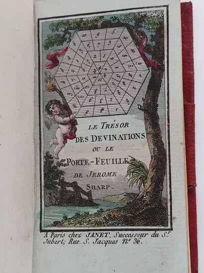 TRÉSOR (Le) des devinations, ou Le Portefeuille...