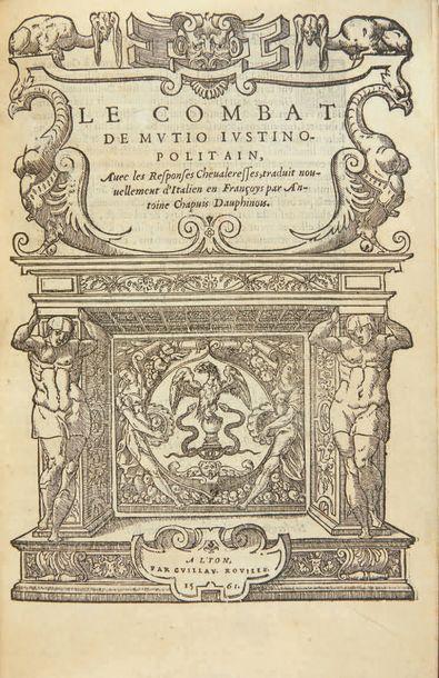 MUZIO (Girolamo)
