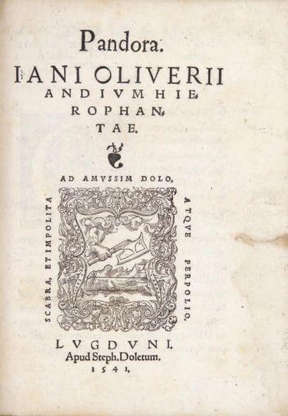 APOLLONIUS DE RHODES.