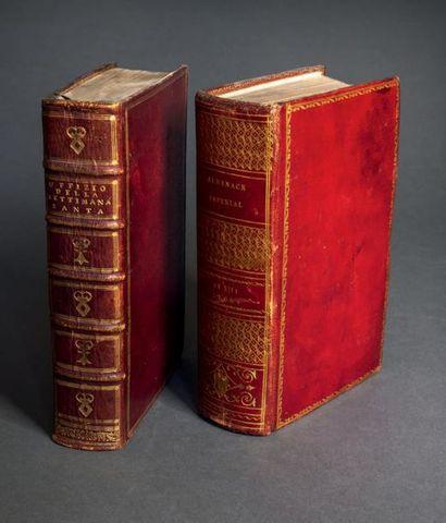 Almanach impérial pour l'An XIII présenté...