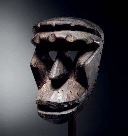 ? Masque Dehe Gla, Kran, région Wé, Libéria...