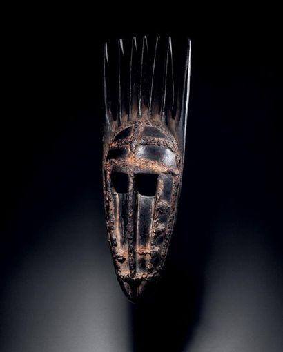 Masque de la société du Ntomo, Peuple Bamana,...