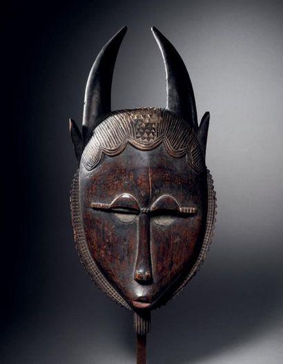 ? Masque Yaouré-Baoulé, Lo, Côte d'Ivoire...