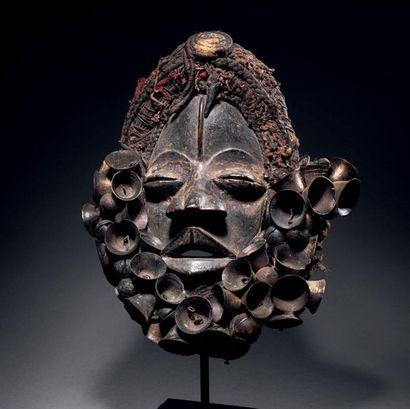 Masque Wé, dit « masque chanteur », Ble gla,...
