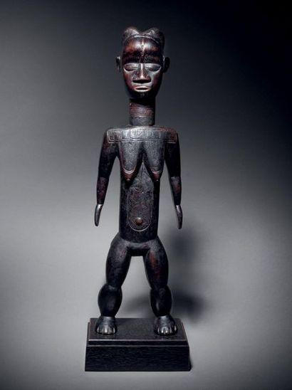 ? Statue féminine Lumé, Dan, Libéria Bois...