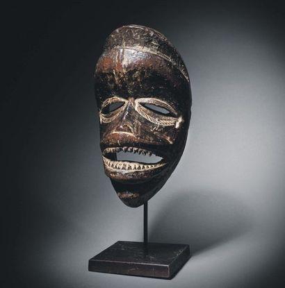 Très ancien masque Kran, Liberia/Côte d'Ivoire...