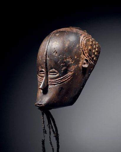 Masque Gouro, Côte d'Ivoire Probablement...