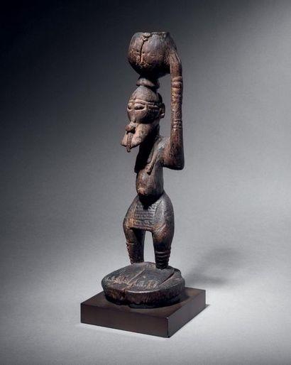 ? Statue hermaphrodite, représentation d'un...