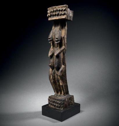 ? Fragment de siège Dogon, Mali Époque: 1700-1740...