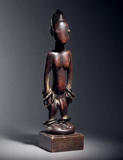 ? Statuette Ibeji, Peuple Yoruba, Nigeria...