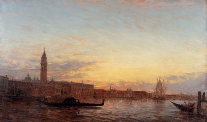 Félix ZIEM (Beaune 1821 - Paris 1911)