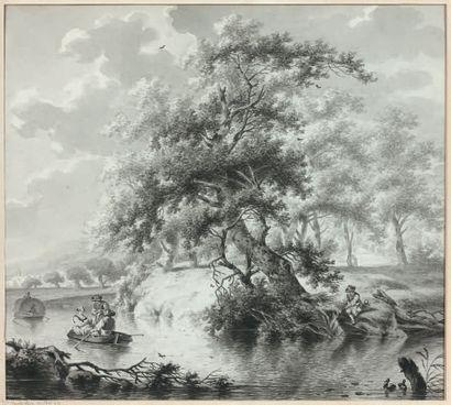 Attribué à Dirk Jan van der LAAN (1759-1829)