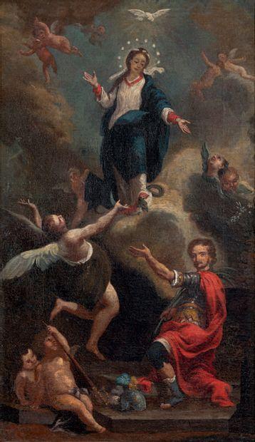 École espagnole du XVIIIe siècle, suiveur de Giambattista TIEPOLO