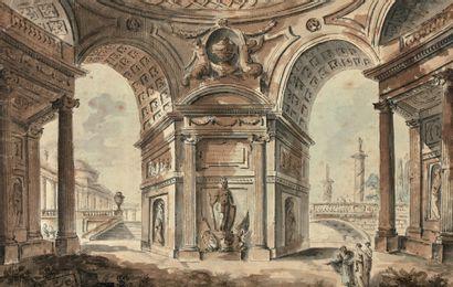 ATTRIBUÉ À JUSTE NATHAN BOUCHER (Paris 1736 - 1782)