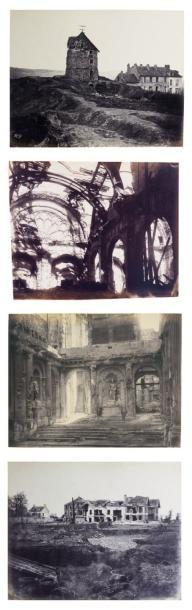 CHARLES PERIER LUCIEN HERVÉ Paris et Saint-Cloud, ruines de la guerre et de la Commune,...