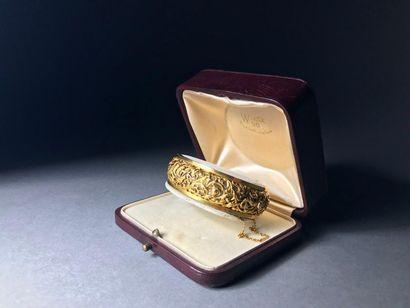 Bracelet en or jaune 18K 51.53 g