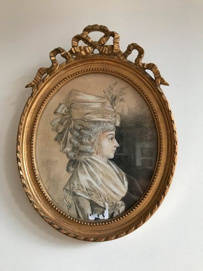 Ecole française dans le goût du XVIIIème siècle