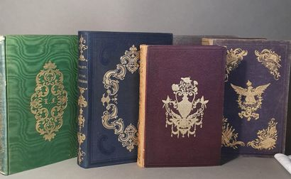Lot de 6 volumes cartonnages romantiques...