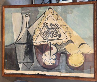 Pablo Picasso (1881-1973) (d'après) 1 planche...