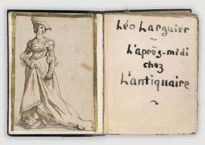 LARGUIER (Léo). L'Après-midi chez l'antiquaire, ou le manuel de l'amateur pauvre....