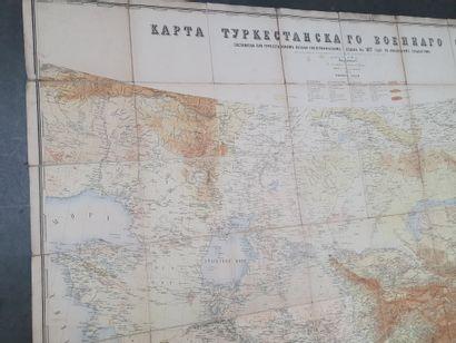 TURKESTAN. — [Service topographique militaire...