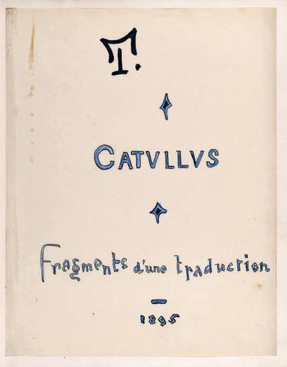 TINAN (Jean Le Barbier de Tinan dit Jean de) (1874-1898) - Catulle.