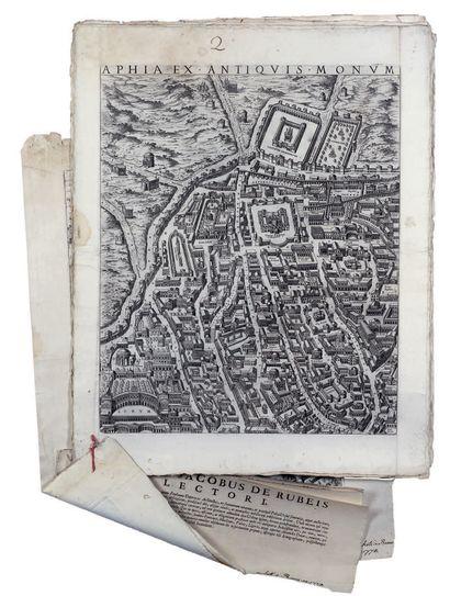 DU PERAC, Stefanus [DU PÉRAC, Etienne] /De Rubeis, Io. Iacob. [Giovanni Giacomo de Rossi].