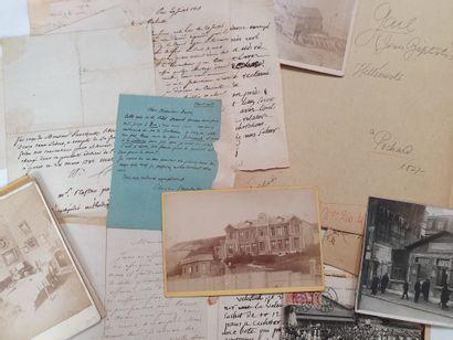 Autographes divers. Une douzaine de lettres...