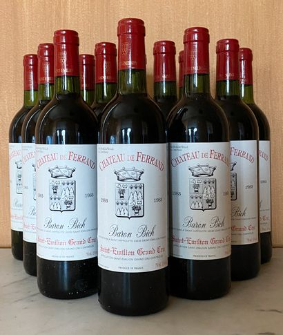 12 bouteilles CHÂTEAU de FERRAND - Saint...