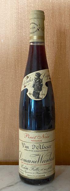 1 bouteille Domaine WEINBACH - Pinot noir...