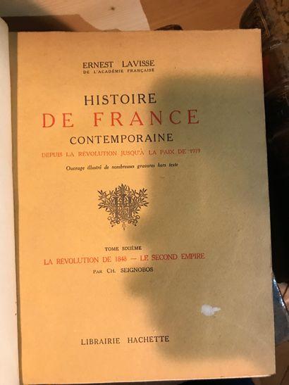 Histoire de France Contemporaine Ernest ...