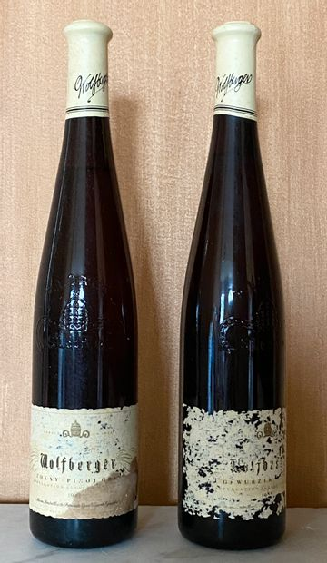 2 bouteilles RIESLING -Domaine WOLFBERGER...