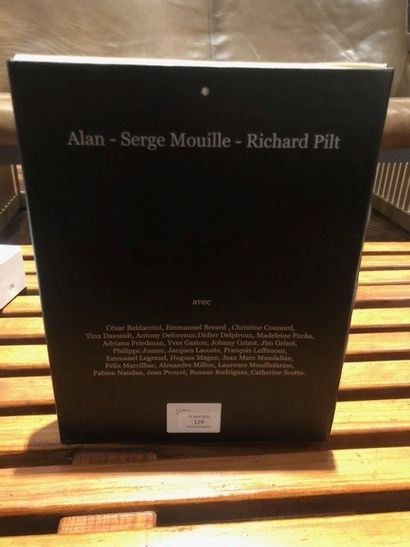 Alan GRIZOT & Richard PILT Serge Mouille, book object printed in 500 copies.