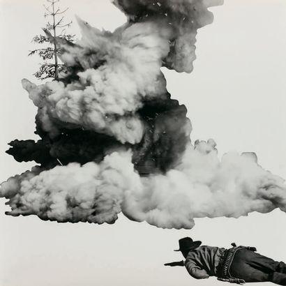 John Baldessari (américain, 1931-2020) Smoke, Tree, Shadow, and Person. 2011. Impression...