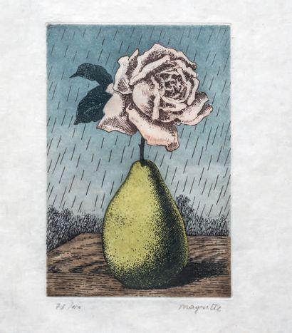 René Magritte (belge, 1898-1967) (d'après)